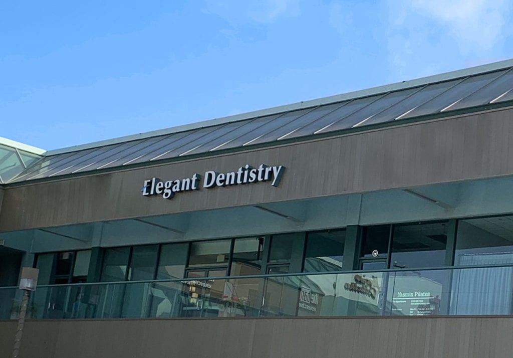 elegant dentistry outside view