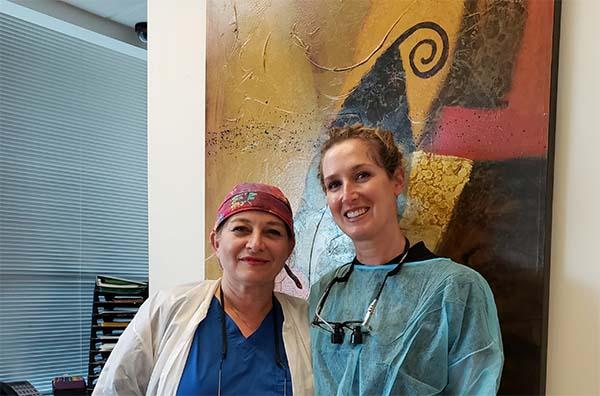 Dr. Marjaneh moghimi Dr. Samantha Besser dentists in Marina del Rey